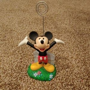 Mickey Mouse photo clip holder